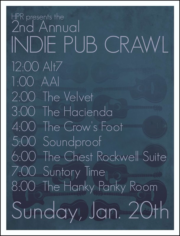 HPR presents INDIE PUB CRAWL 2013
