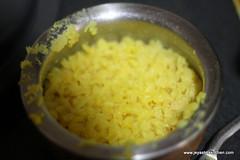 Rava pongal step 4