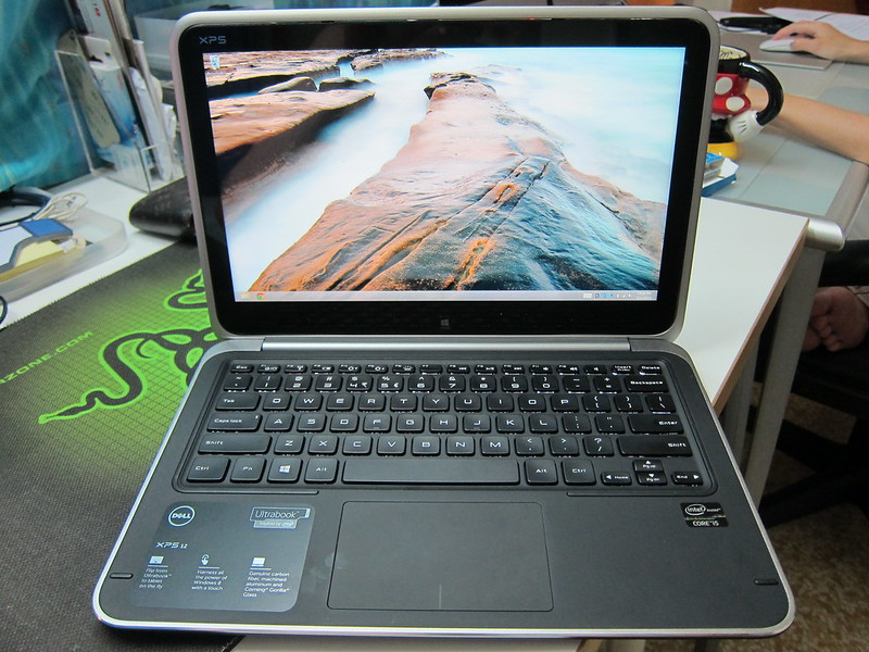Dell XPS 12 - Windows Desktop In Ultrabook Mode