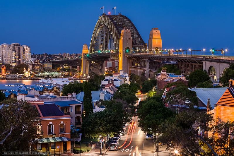 Sydney Harbor Bridge- Observatory Hill