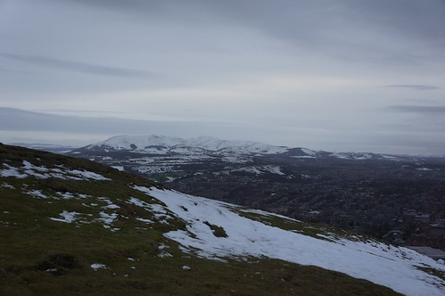 The Pentland Hills from Arthur's Seat, Edinburgh