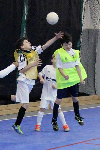 soccer header: bracing for impact