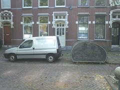 Fietshangar in Rotterdam