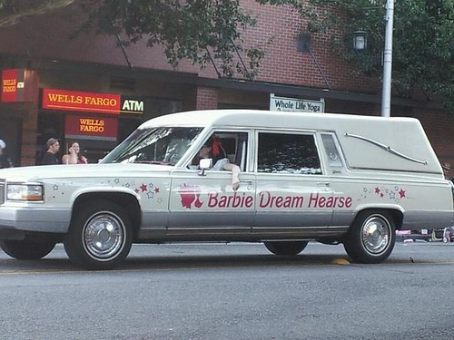 Barbie-Hearse by mrkugler