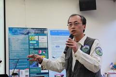 特生中心棲地生態組組長林瑞興說明全民科學在全球的運用。