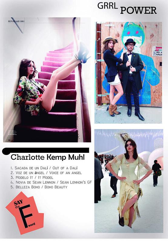 Charlotte Kemp Muhl / Grrl Power