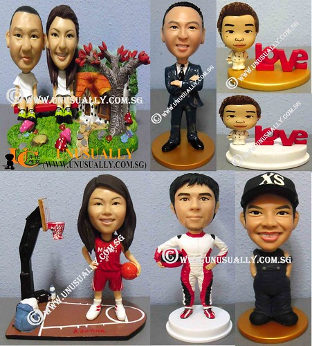 Personalized 3D Unusually Creation Figurines - @www.unusually.com.sg