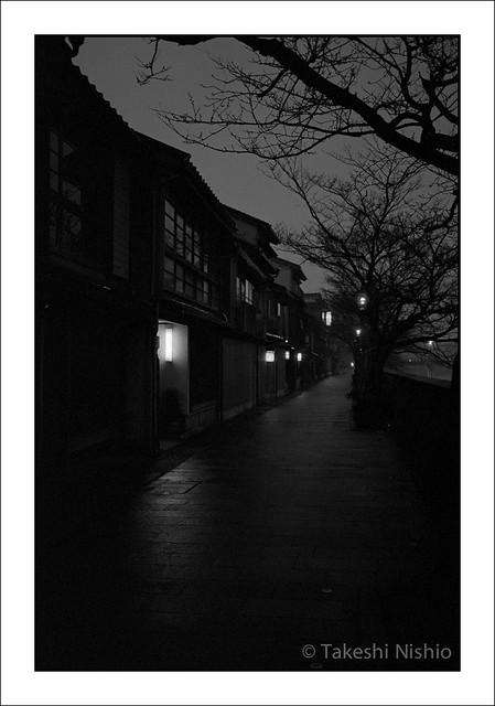 夜の主計町 / Kazuemachi, Night