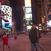 Matt in Times Square