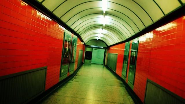 Baker Street, 18:57 #EmptyUnderground