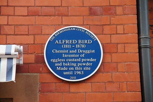 Alfred Bird blue plaque | Open Plaques