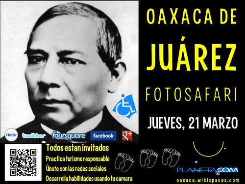 Todos estan invitados. Oaxaca de Juárez FotoSafari @RegTurismoOax @TurismoEconOax @AtreveteOaxaca