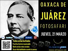 Todos estan invitados. Oaxaca de Ju�rez FotoSafari @RegTurismoOax @TurismoEconOax @AtreveteOaxaca