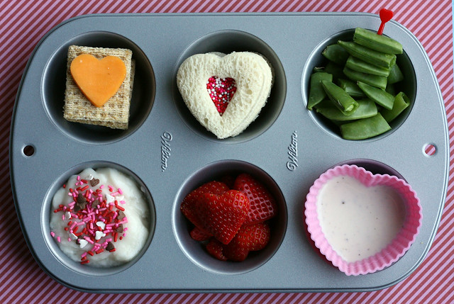 Muffin Tin Meal: Valentine's Day