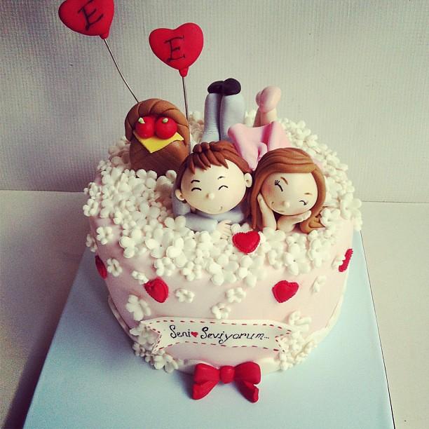 #love #apple#heart#pastaperisiserap #cake