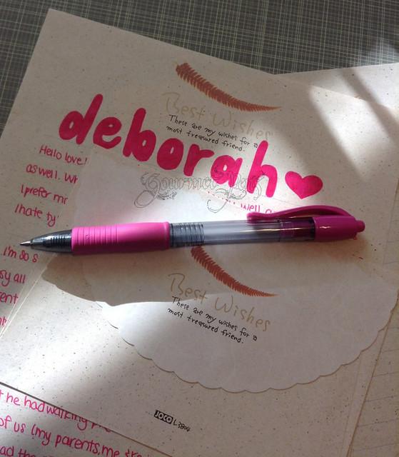 Pilot G2 Pink Gel Pen