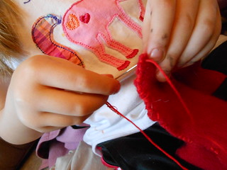 Hand Sewing 2- Lambkin (4)