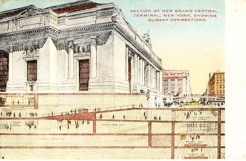 Section of new Grand Central Terminal, NYC 1266