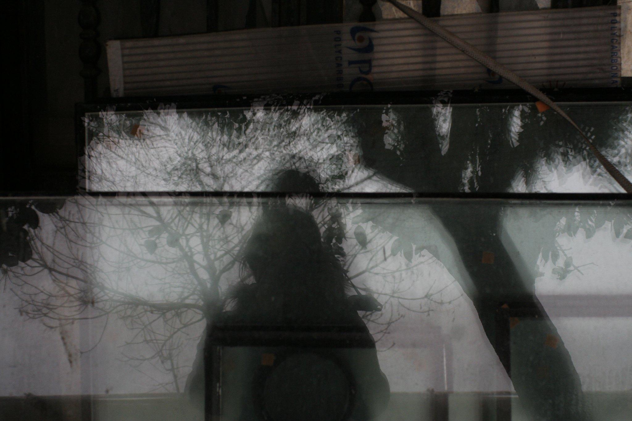 Outside the glazier