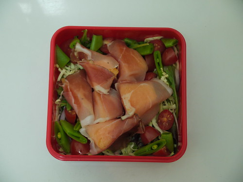 #446 - Spek Wrapped Spanspek Salad