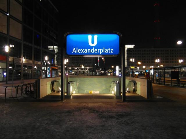 u bahnhof alexanderplatz rome - photo#13