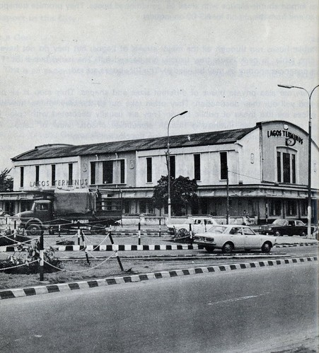Guide to Lagos 1975 010 railway terminal