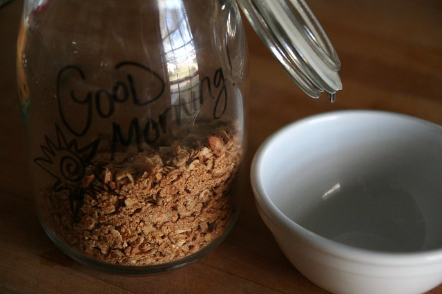 my new favorite granola recipe