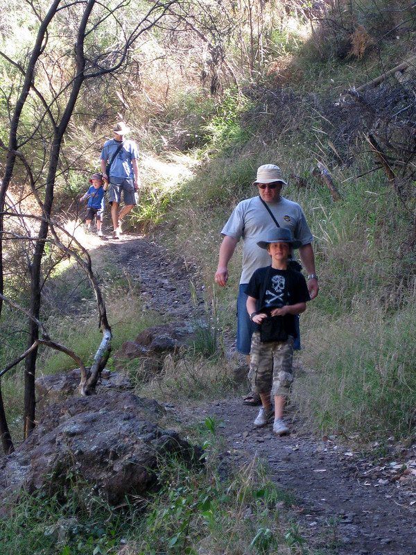 Hiking is an awesome way to bond with kids