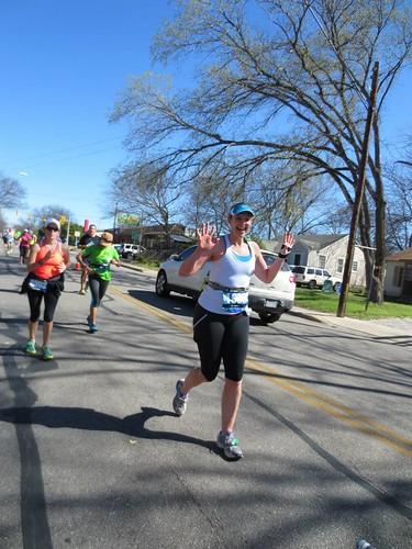 Marathon mile 23