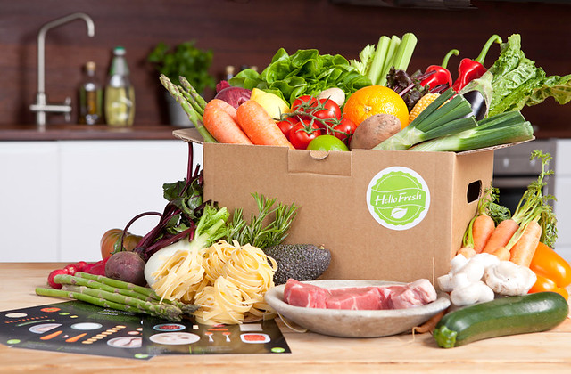 Hello Fresh Box from Flickr via Wylio