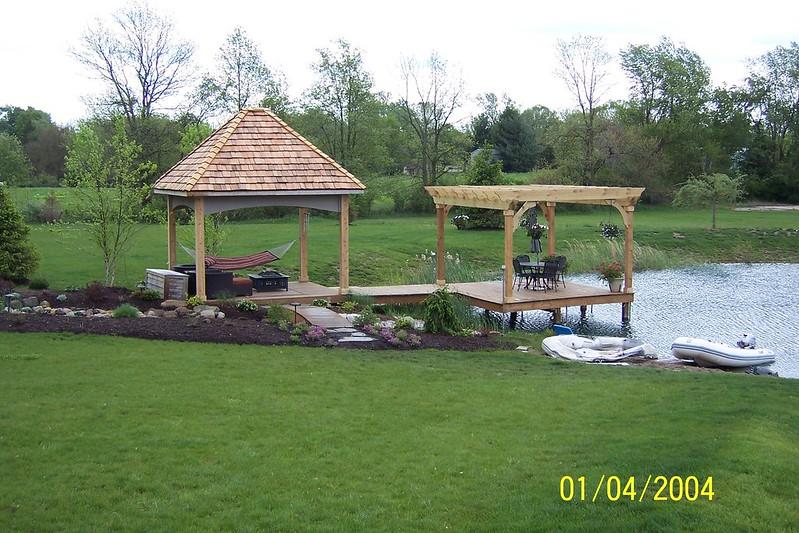 Design plan landscape design zionsville indiana here for Design of farm pond ppt