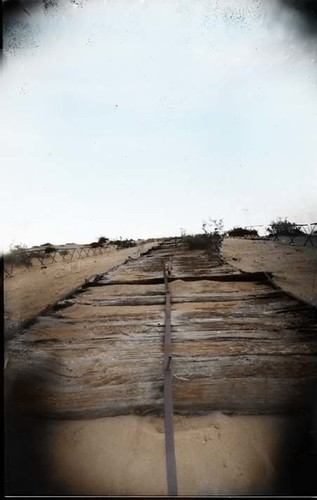 Plank Road, 1914-1927- Imperial Sand Dunes, California by Crunchy Footsteps