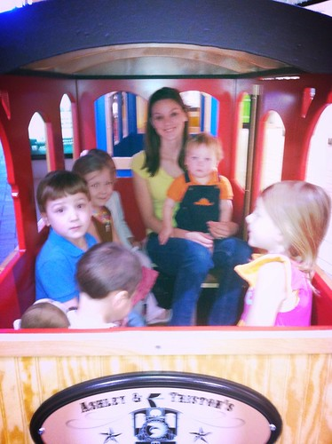 Train Ride at the mall
