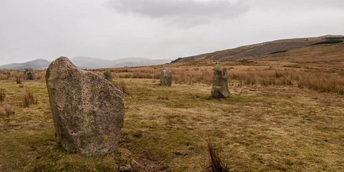 Stone Circle. Kinniside Common