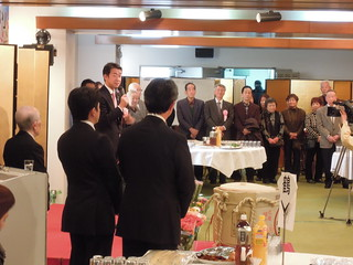 2013/2/23 自民党埼玉15区 田中良生代議士後援会 新春の集い