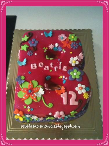 Bolo B Beatriz by Osbolosdasmanas