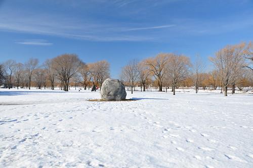 Parc René-Lévesque en hiver
