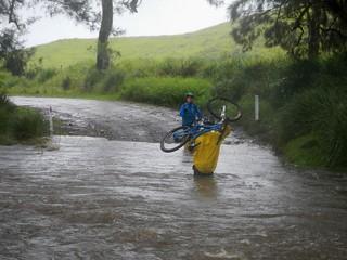 Crossing Koreelah Creek
