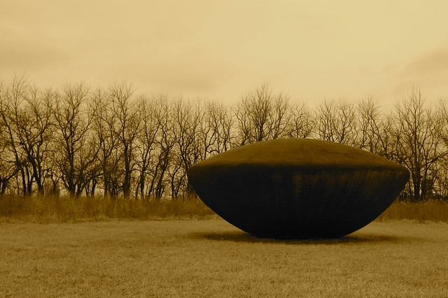 Flying Saucer, 1977, Jene Highstein