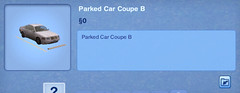 Parked Car Coupe B