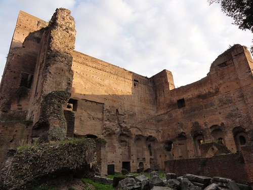 Religious building ruins Rome