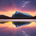Mt Rundle Sunrise Banff National Park by kevin mcneal