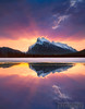 Mt Rundle Sunrise Banff National Park