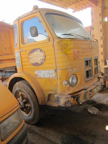 Pegaso 1095 de l'empresa Argiles Colades SA de Corçà (Baix Empordà).