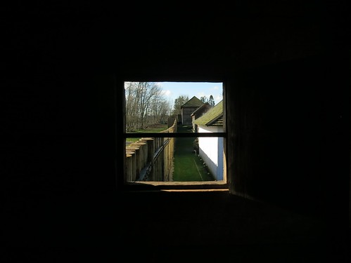 Fort Langley from the rampart tower