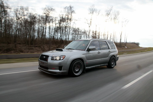 Subaru Forester Transportation In Photography On The