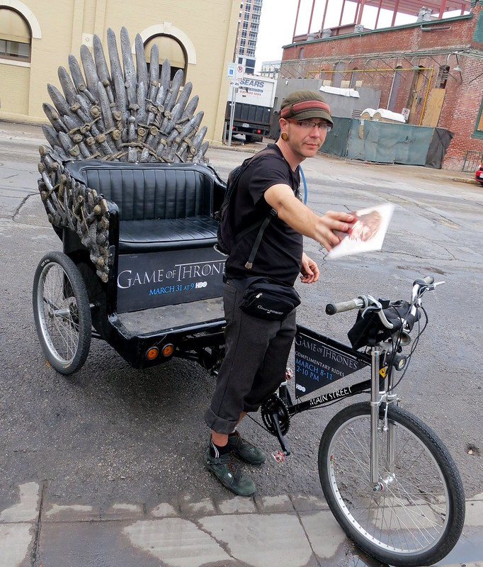 Game of Thrones Pedicab