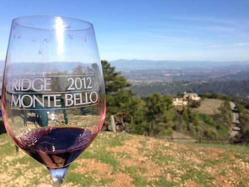 Last sips of the 2010 Ridge Monte Bello