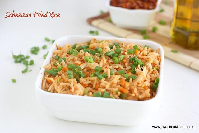 Schezwan rice 3