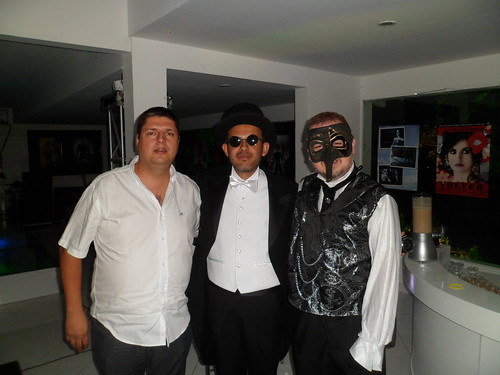 Gonzo, Juanfer and me.